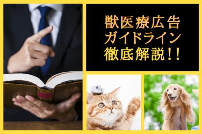 獣医療広告ガイドライン
